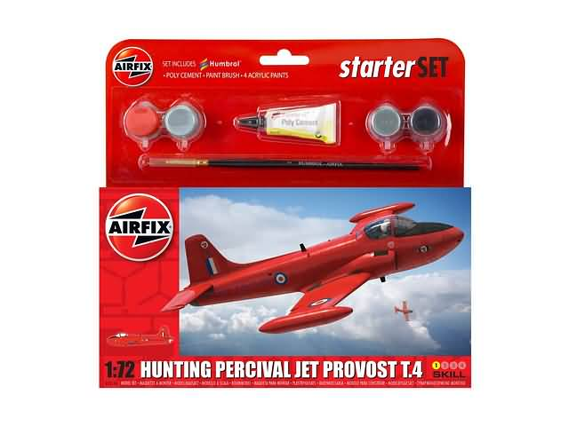 P45859 airfix 55116 Provost T4 Starter Set