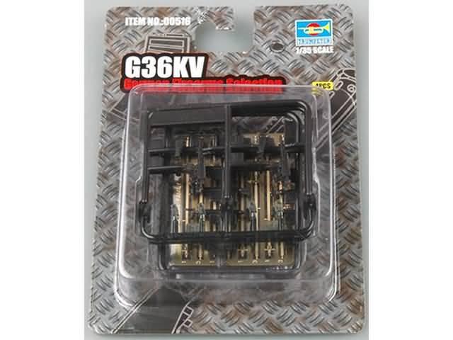 Trumpeter 1//35 G36KV German Firearms Selection # 00516